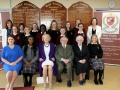 President Michael D Higgins visits HFSS with wife Sabina