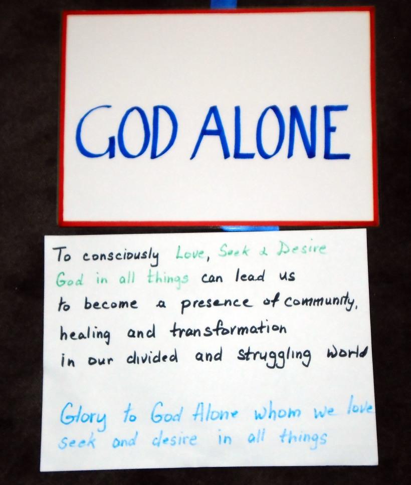 Spirit of God Alone