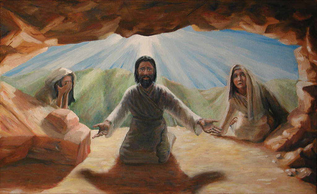 Jesus raises Lazarus  From LumoProjectcom  Biblecom