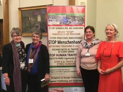 Srs Bernadette Morton, Imelda Poole, Bernadette Briffa, DMB Foundation, Anne Kelleher, Renate