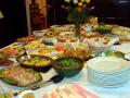 a Banquet prepared